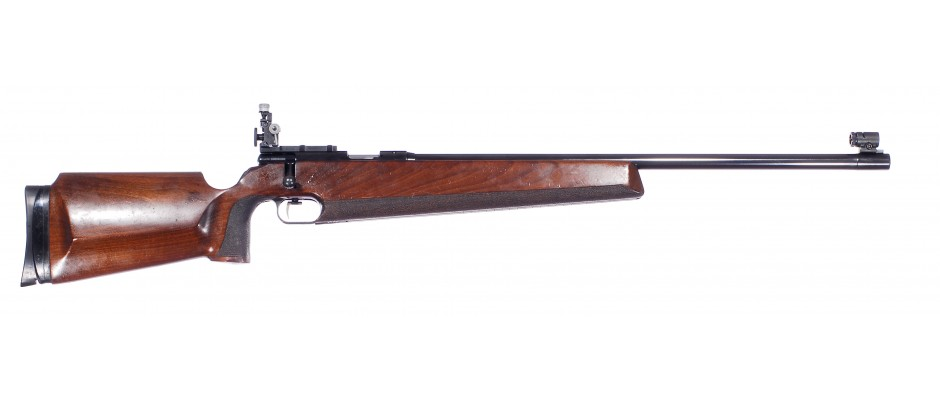 Malorážka jednoranová Anschütz model 54 Match 22 LR LEVÁK!