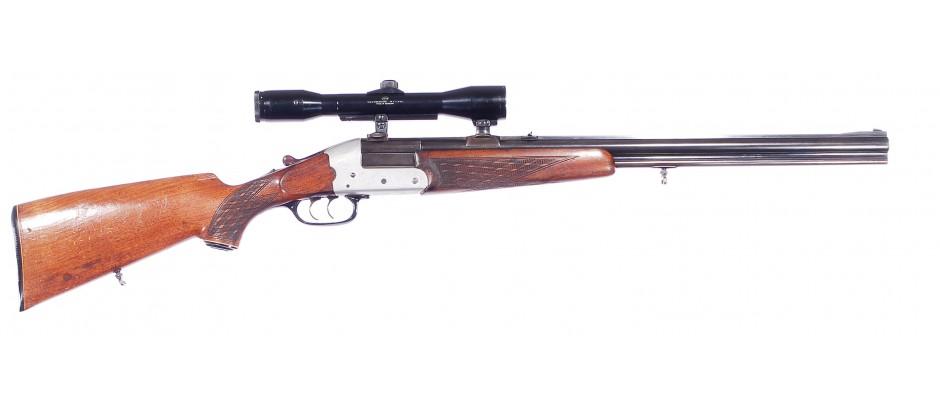 Kulobrok Heym model 22F 16/70 + 222 Rem.