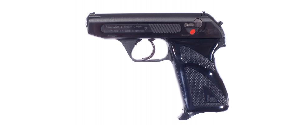 Pistole Heckler&Koch HK4 + sada tří hlavní