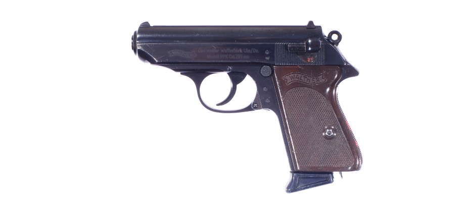Pistole Walther PPK 7,65 mm Br Luftwaffe Bundeswehr