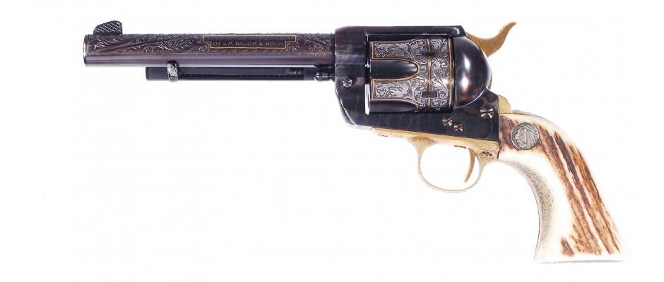 Revolver Sauer Western Six Shooter 357 Magnum