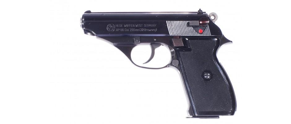Pistole Hege AP 66 7,65 mm Br.