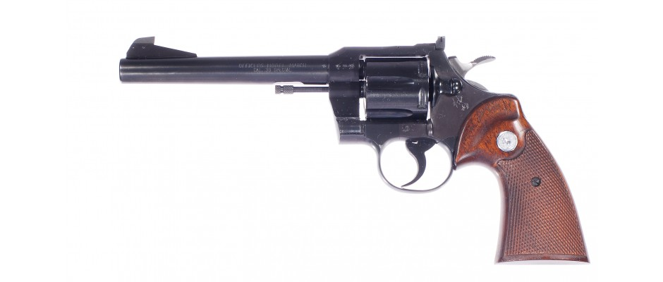 Revolver Colt Officers Model Match 38 Special