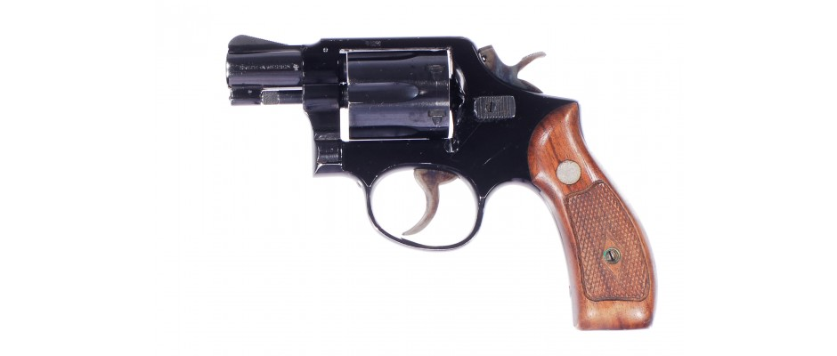 Revolver Smith&Wesson Model 12 Airweight 38 Special
