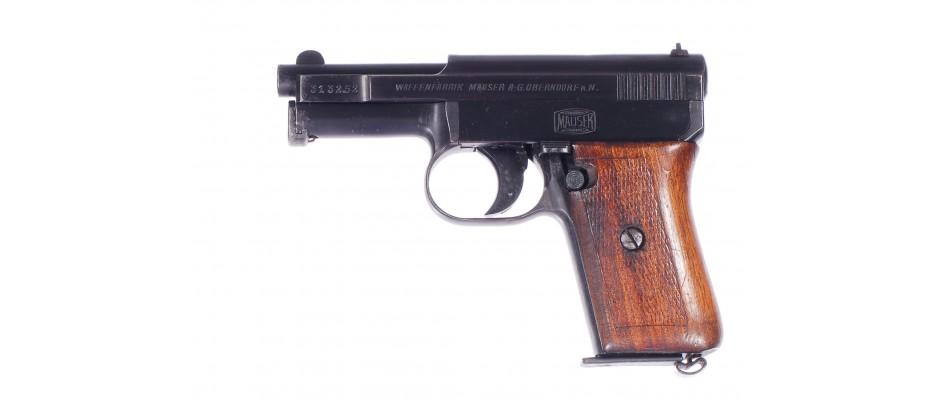 Pistole Mauser 1910/14 6,35 mm Br