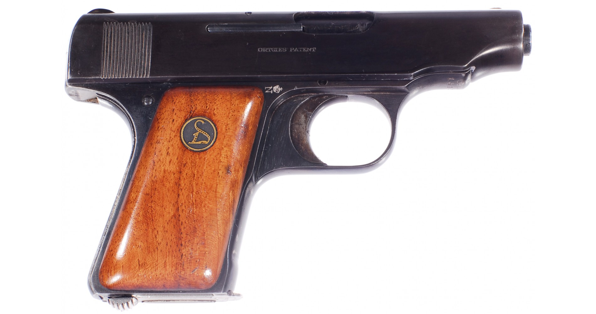 Pistole deutsche werke ortgies 6 35 mm br 2822 prodej zbran 237