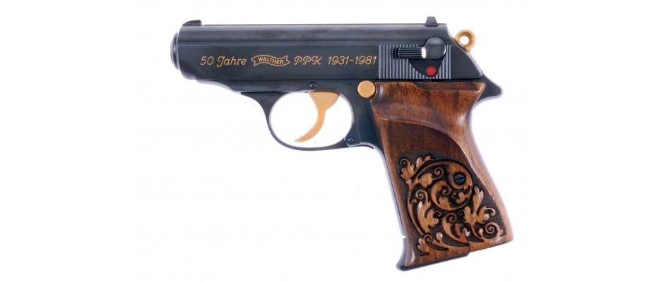 Pistole Walther PPK Jubileum 50 let PPK 9 mm Br
