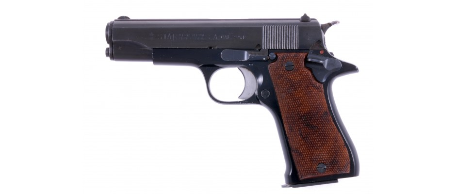 Pistole Star Model BKS 9 mm Luger