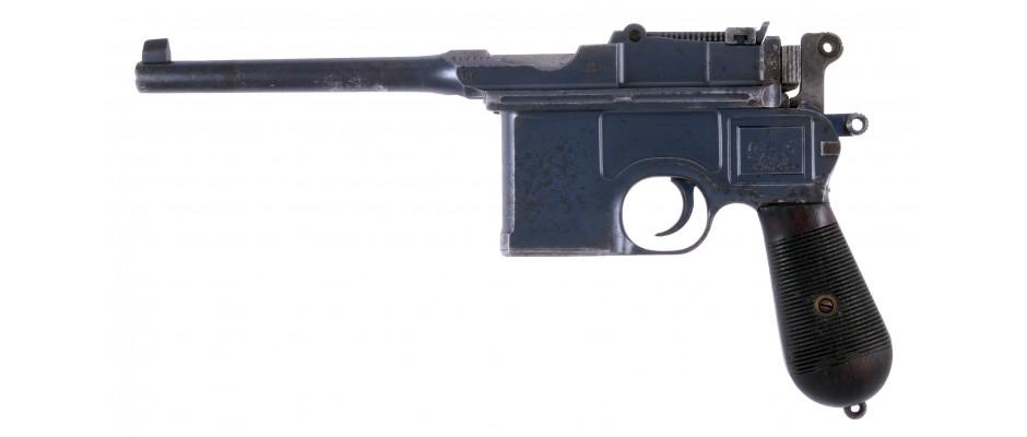 Pistole Mauser C 96 perský kontrakt 7,63 mm Mauser