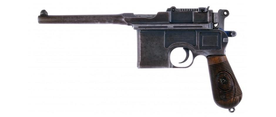 Pistole Mauser C 96 9 mm  Luger