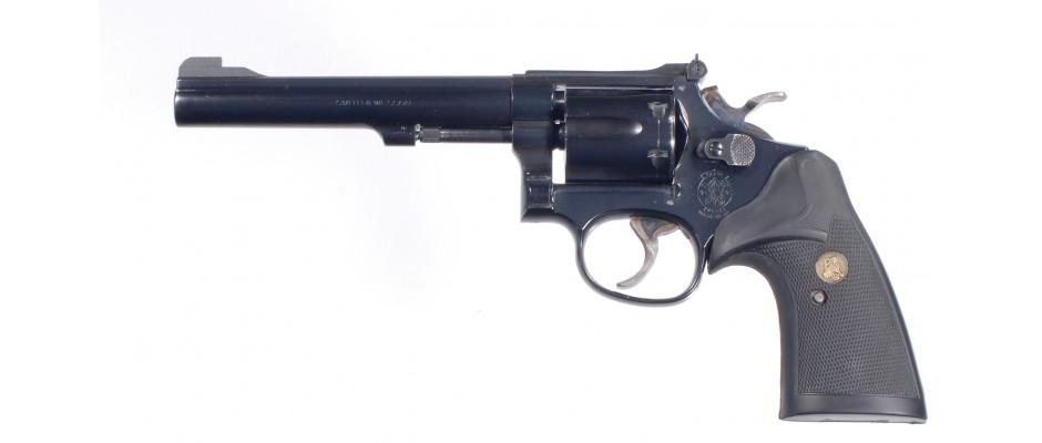 Revolver Smith&Wesson Model 17-5 22 LR