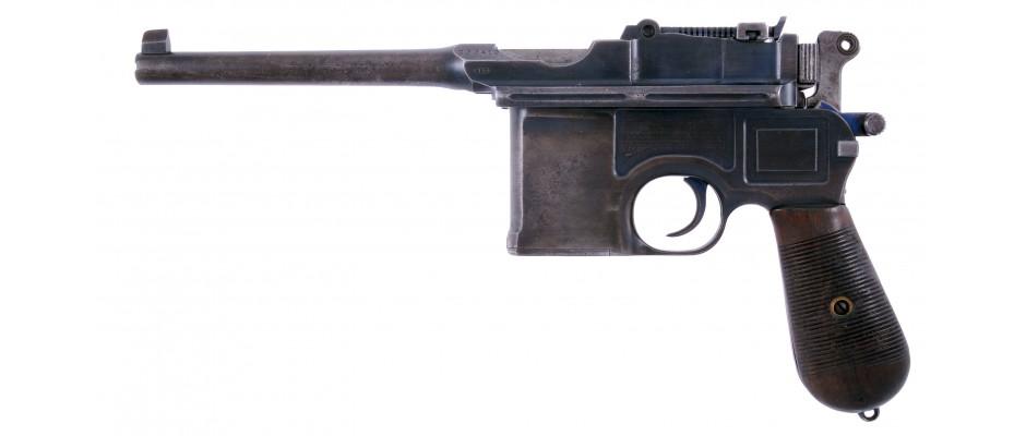 Pistole Mauser C 96 7,63 Mauser