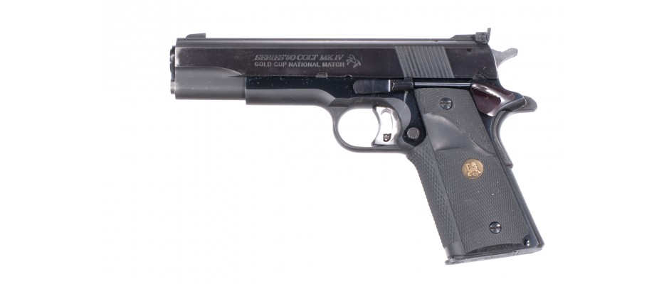 Pistole Colt MK IV Series 80 Gold Cup National Match 45 ACP