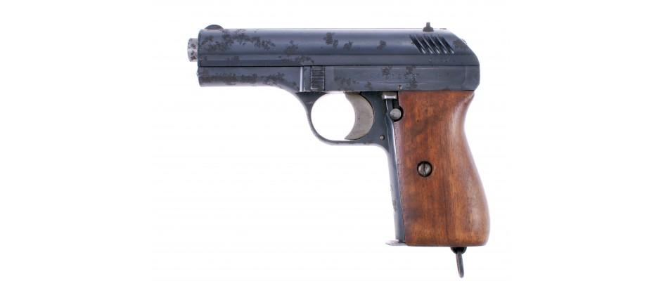 Pistole ČZ vz.24 s pouzdrem a zásobníky 9 mm vz.22