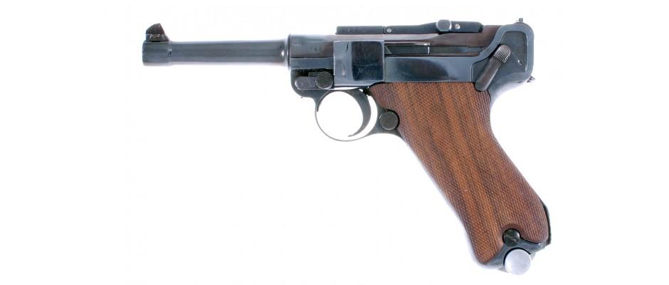 Pistole P.08 DWM+Erma 22 LR