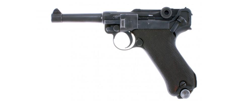 Pistole P.08 DWM+Mauser 9 mm Luger