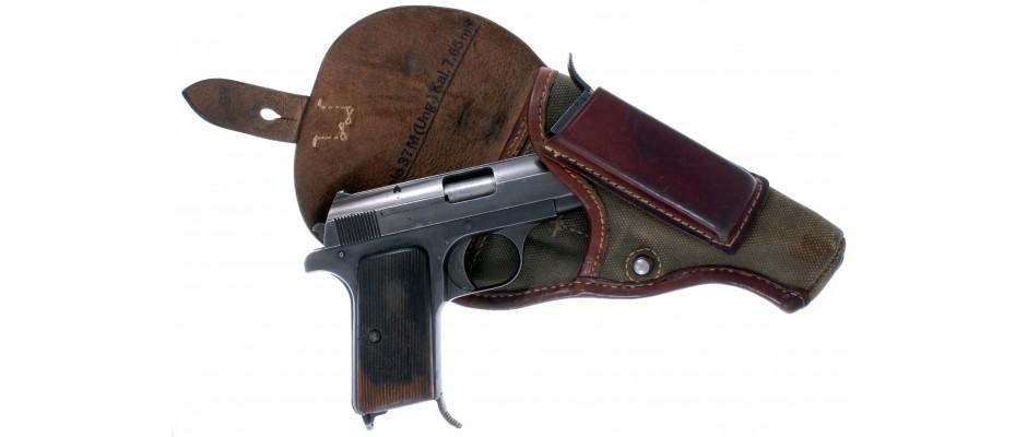Pistole Fegyvérgyár model 37 7.65 mm Br.