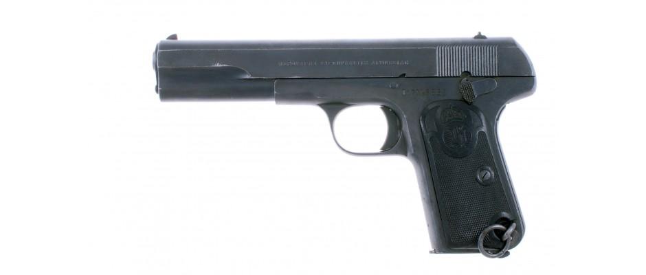 Pistole Husqvarna model 07 9 mm Br. Long