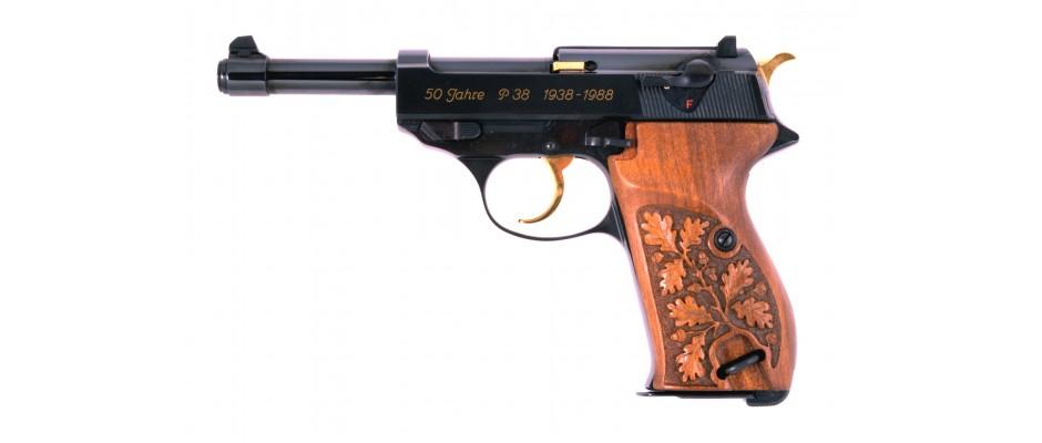 Pistole P 38 jubileum 50 let P 38 9 mm Luger