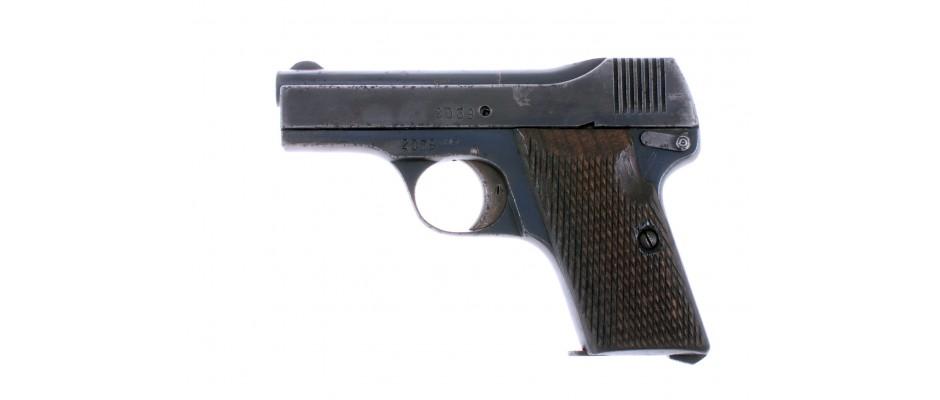 Pistole Beholla 7,65 mm Br.