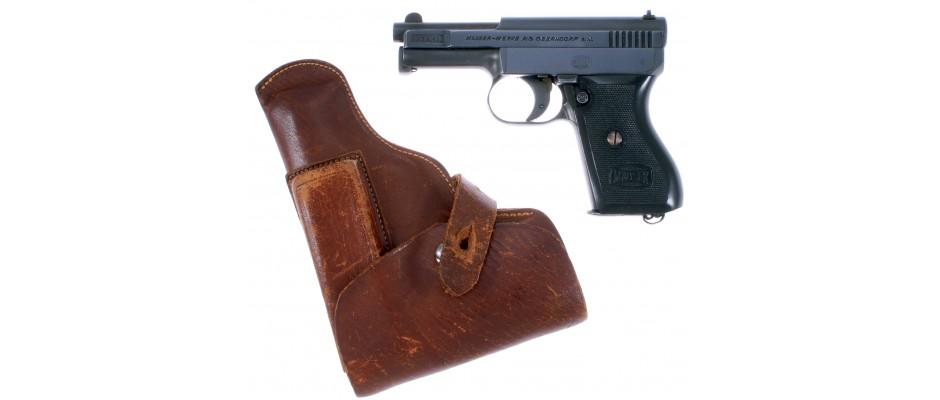 Pistole Mauser 1910/34 6,35 mm Br.