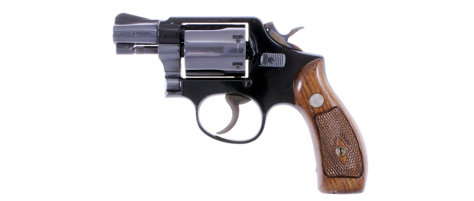 Revolver Smith&Wesson model 12-3 Airweight 38 Special