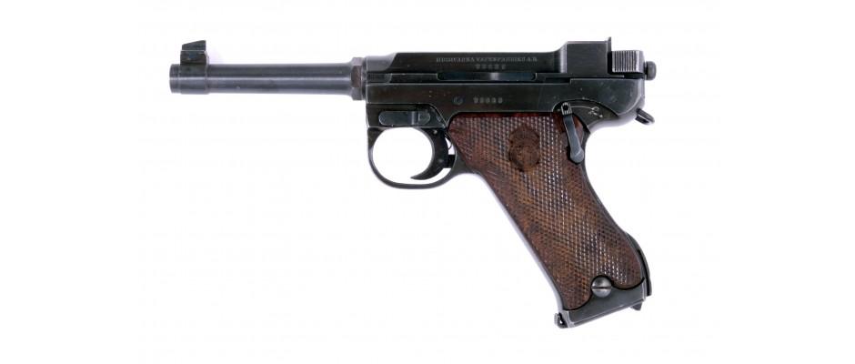 Pistole Husqvarna M 40 9 mm Luger