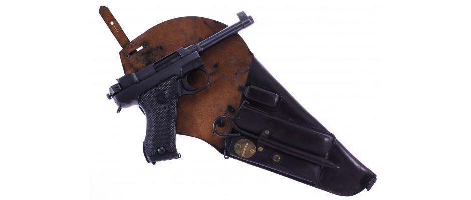 Pistole Husquarna 9 mm Luger