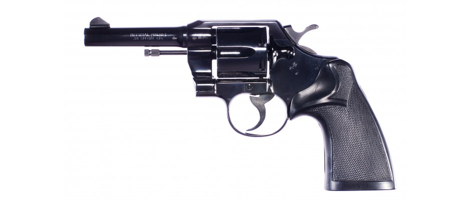 Revolver Colt Official Police 38 Special