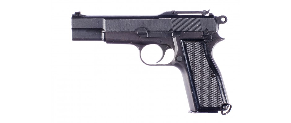 Pistole John Inglis HP 9 mm Luger