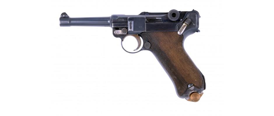 Pistole P08 9mm Luger