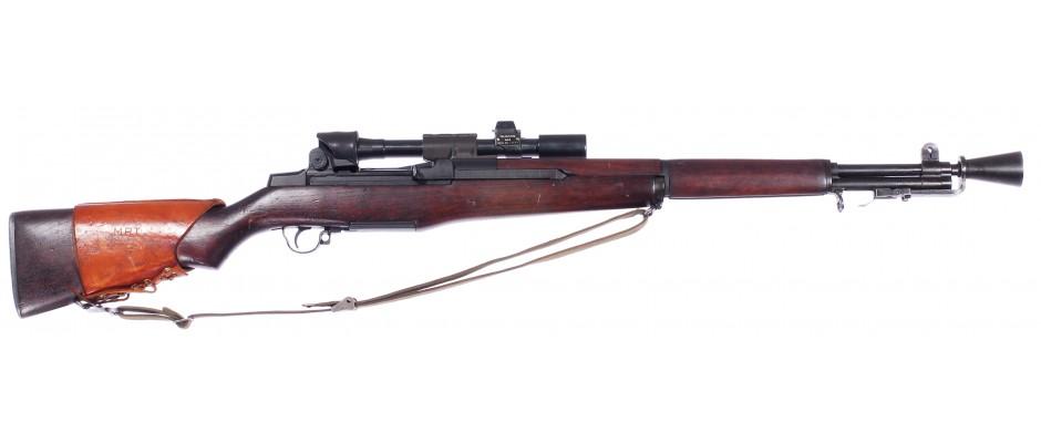 Puška samonabíjecí M1D Garand sniper 30-06 Sprg.