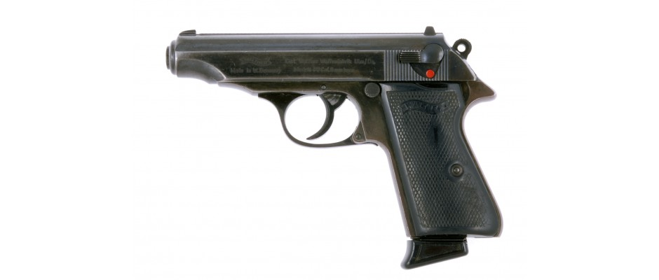 Pistole Walther PP 9mm Br