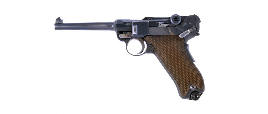 Pistole Parabellum model 1900/06 7,65 mm Luger