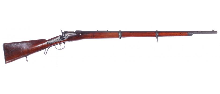 Puška jednoranová Werndl 1867 kat.D! 11,15x42 mm R