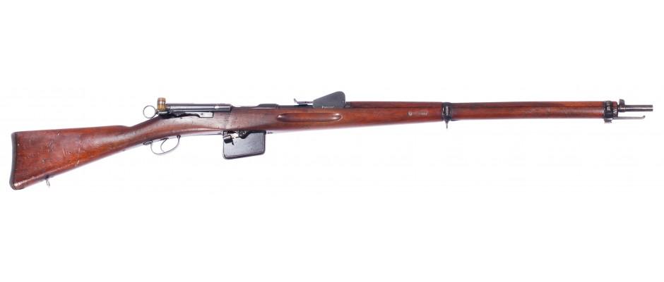 Puška opakovací Schmidt-Rubin 1889 7,5x53,5 mm Swiss