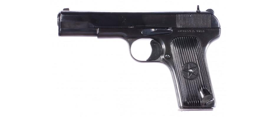 Pistole Tokarev TT-33 7,62 mm Tokarev