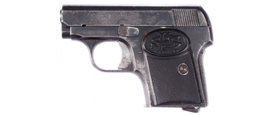 Pistole Societe D´Armes 6,35 mm Br.