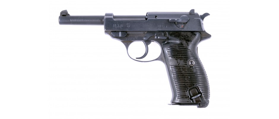 Pistole P.38 Walther 9 mm Luger