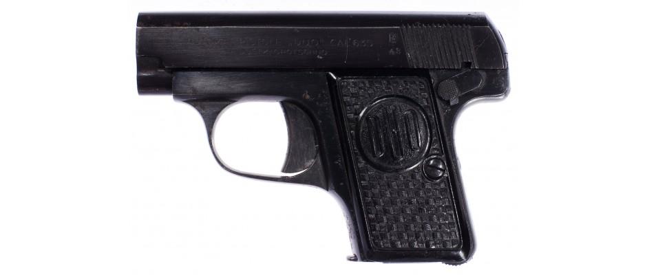 Pistole DUO f.Dušek Opočno 6,35 mm Br