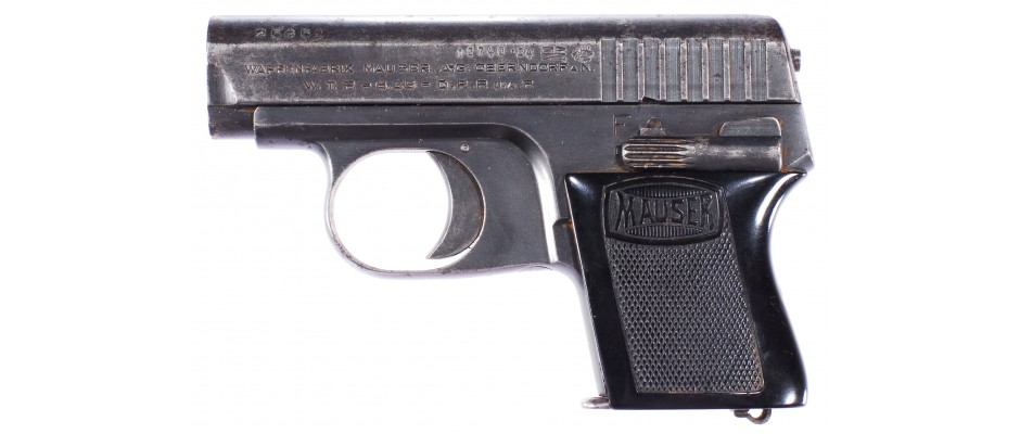 Pistole Mauser WTP model I 6,35 mm Br.