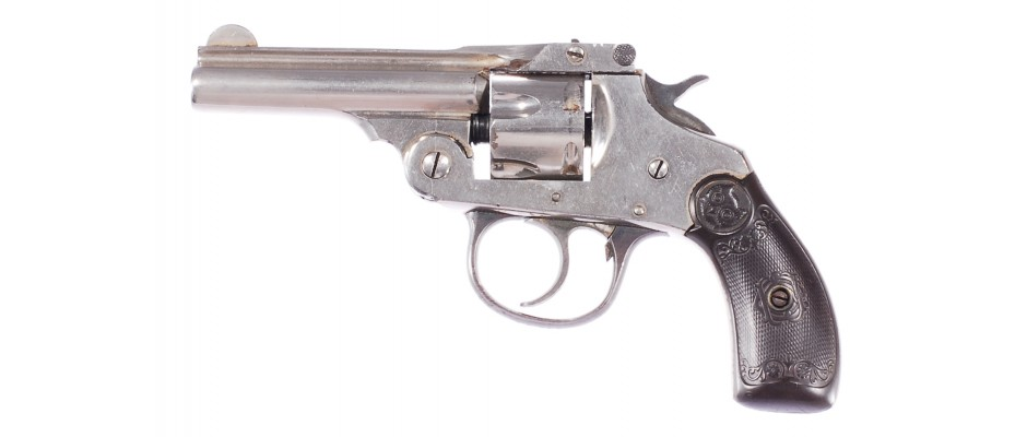 Revolver Iver Johnson Safety Automatic Second Model Small Frame Hammer 32 S&W Centerfire