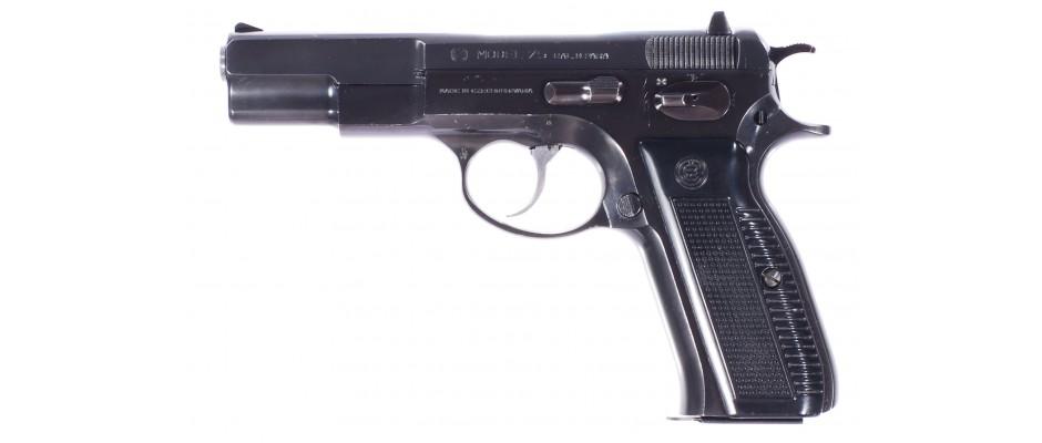 Pistole ČZ 75 1. výr. provedení 9 mm Luger