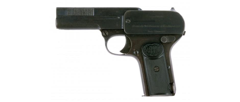 Pistole Dreyse M 1907 7,65 mm Br