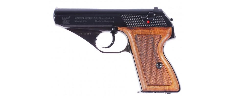 Pistole Mauser HSC 9 mm Br