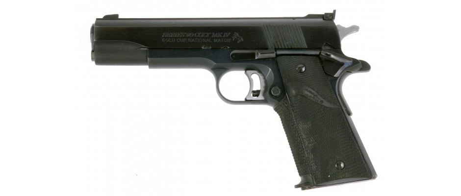 Pistole Colt Mk IV Gold Cup 45 ACP
