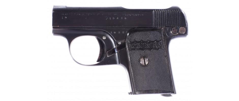 Pistole Arizmendi&Goenaga Walman 6,35 mm Browning
