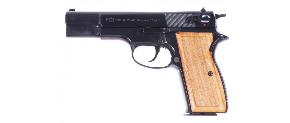 Pistole Mauser 90 DA 9 mm Luger