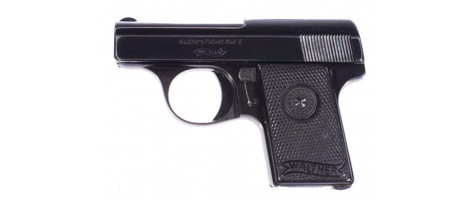 Pistole Walther model 9 6,35 mm Br