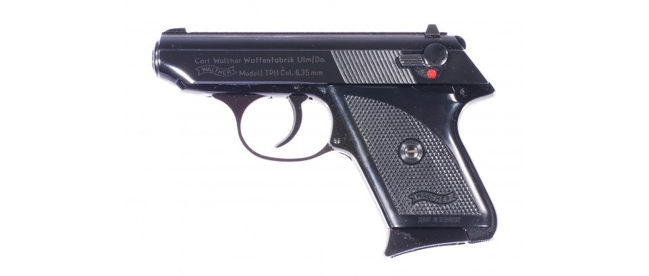 Pistole Walther TPH+pouzdro pro leváka 6,35 mm Br